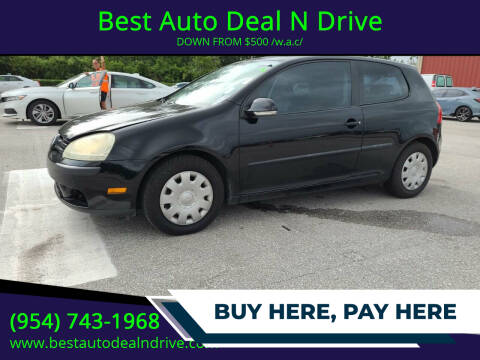 2008 Volkswagen Rabbit for sale at Best Auto Deal N Drive in Hollywood FL
