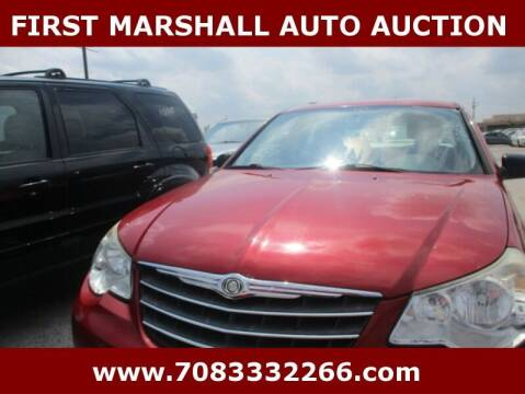 2010 Chrysler Sebring for sale at First Marshall Auto Auction in Harvey IL