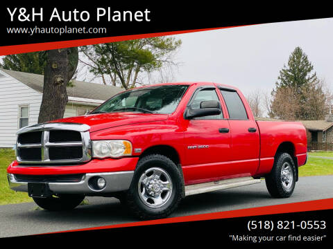 2003 Dodge Ram Pickup 2500 for sale at Y&H Auto Planet in West Sand Lake NY