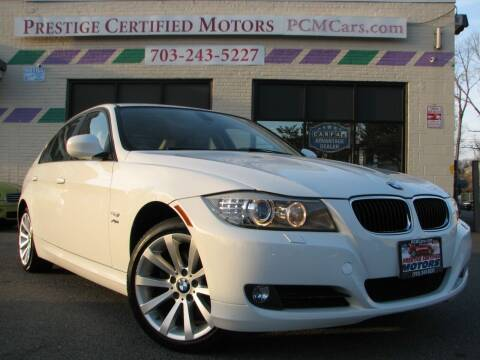 2011 BMW 3 Series for sale at Prestige Certified Motors in Falls Church VA