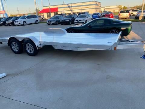 2021 Rance Aluminum  20ft Aluminum Car Trailer for sale at EUROPEAN AUTOHAUS in Holland MI