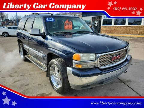 2004 GMC Yukon for sale at Liberty Car Company in Waterloo IA