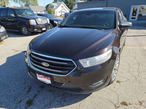 2014 Ford Taurus for sale at ROYAL AUTO SALES INC in Omaha NE