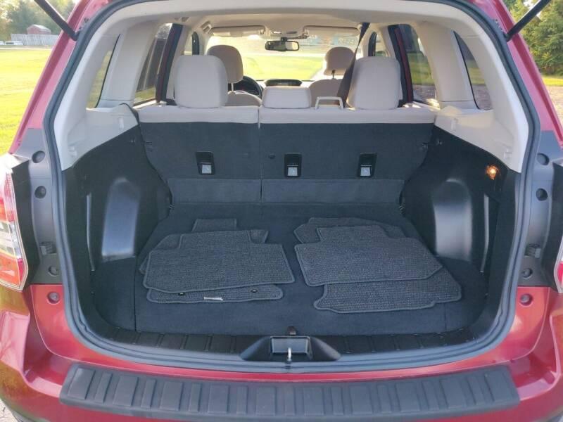 2015 Subaru Forester AWD 2.5i 4dr Wagon CVT - Schoolcraft MI