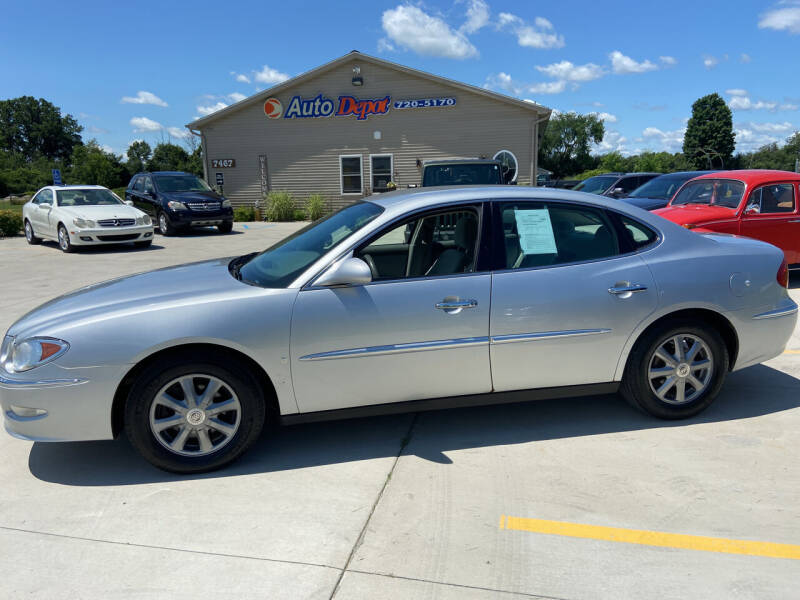 2009 Buick LaCrosse for sale at The Auto Depot in Mount Morris MI