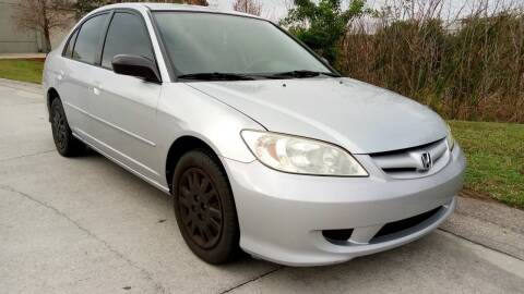 2005 Honda Civic for sale at Coastal Car Brokers LLC in Tampa FL