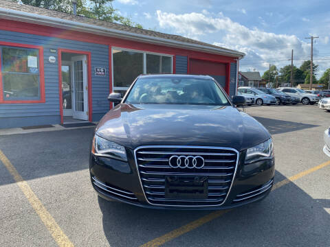 2014 Audi A8 for sale at Top Quality Auto Sales in Westport MA