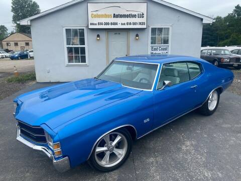 1971 Chevrolet Chevelle for sale at COLUMBUS AUTOMOTIVE in Reynoldsburg OH