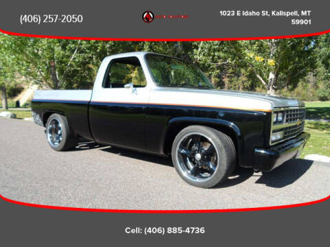 1986 Chevrolet C/K 10 Series for sale at Auto Solutions in Kalispell MT