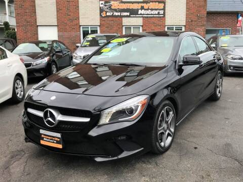 2014 Mercedes-Benz CLA for sale at Somerville Motors in Somerville MA
