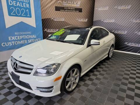 2012 Mercedes-Benz C-Class for sale at X Drive Auto Sales Inc. in Dearborn Heights MI