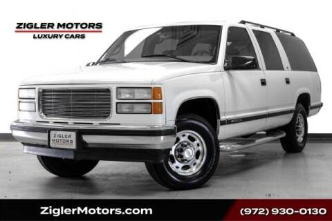 1999 Chevrolet Suburban for sale at Zigler Motors in Addison TX