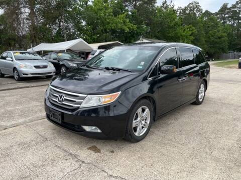 2012 Honda Odyssey for sale at AUTO WOODLANDS in Magnolia TX