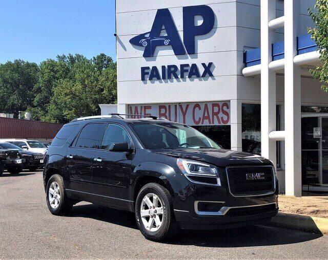 2013 GMC Acadia for sale at AP Fairfax in Fairfax VA