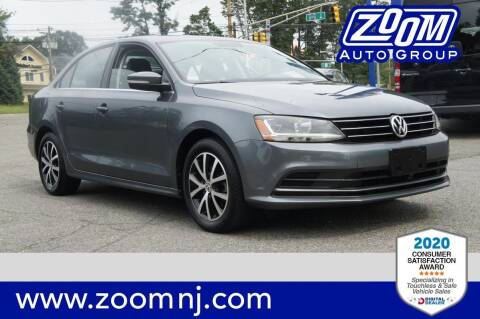 2017 Volkswagen Jetta for sale at Zoom Auto Group in Parsippany NJ