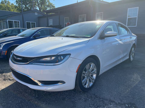 2016 Chrysler 200 for sale at Champs Auto Sales in Detroit MI