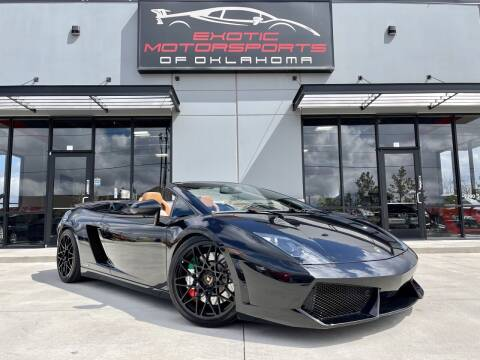 2010 Lamborghini Gallardo for sale at Exotic Motorsports of Oklahoma in Edmond OK