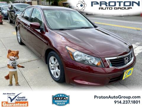 2010 Honda Accord for sale at Proton Auto Group in Yonkers NY