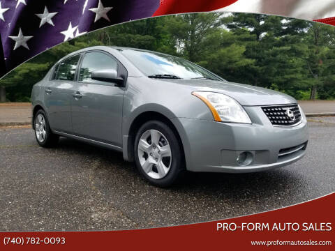 2008 Nissan Sentra for sale at Pro-Form Auto Sales in Belmont OH