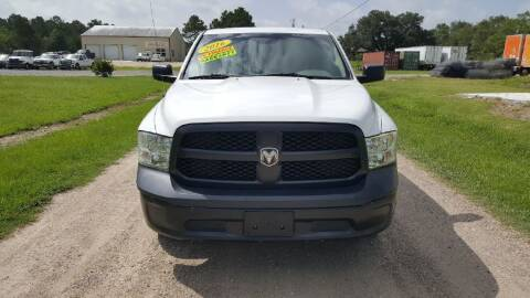 2016 RAM Ram Pickup 1500 for sale at Auto Guarantee, LLC in Eunice LA
