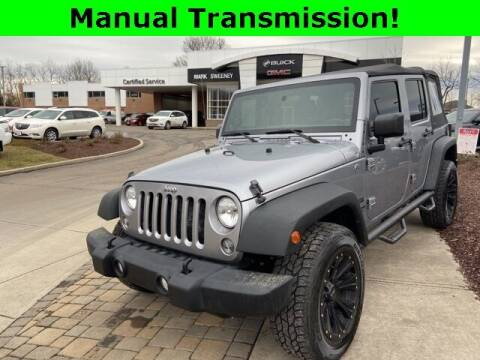 2014 Jeep Wrangler Unlimited for sale at Mark Sweeney Buick GMC in Cincinnati OH