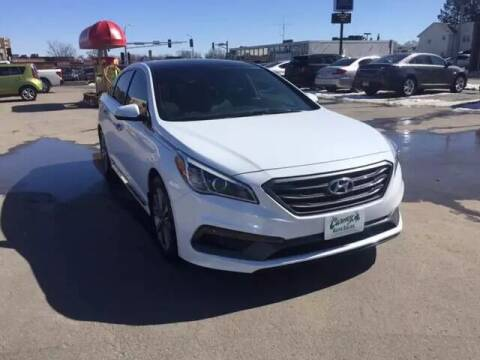 2016 Hyundai Sonata for sale at Carney Auto Sales in Austin MN