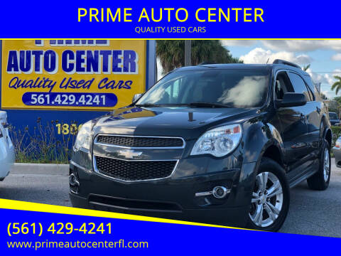 2013 Chevrolet Equinox for sale at PRIME AUTO CENTER in Palm Springs FL