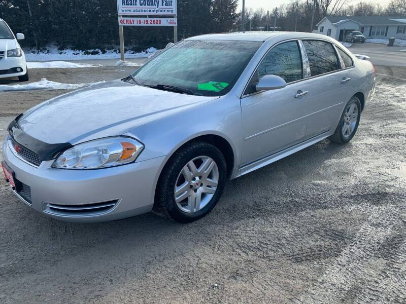 2013 Chevrolet Impala for sale at GREENFIELD AUTO SALES in Greenfield IA