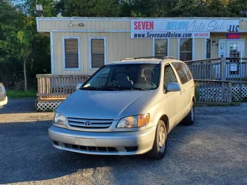 2003 Toyota Sienna for sale at Seven and Below Auto Sales, LLC in Rockville MD