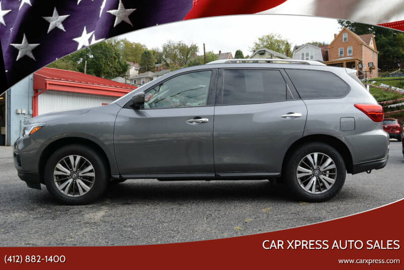 2019 Nissan Pathfinder for sale at Car Xpress Auto Sales in Pittsburgh PA