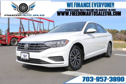 2019 Volkswagen Jetta for sale at Freedom Auto Sales in Chantilly VA