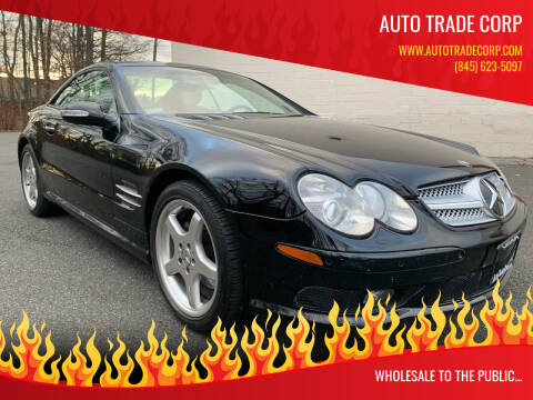 2003 Mercedes-Benz SL-Class for sale at AUTO TRADE CORP in Nanuet NY
