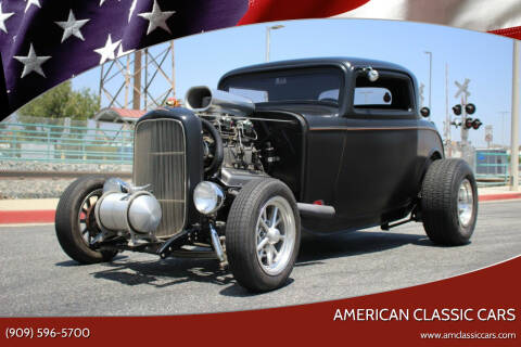1932 Ford HIBOY for sale at American Classic Cars in La Verne CA