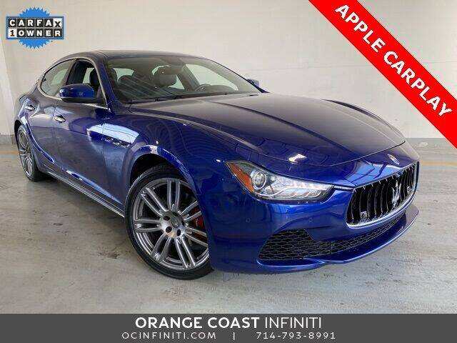 2017 Maserati Ghibli for sale at ORANGE COAST CARS in Westminster CA