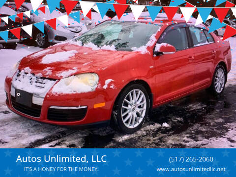 2008 Volkswagen Jetta for sale at Autos Unlimited, LLC in Adrian MI