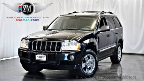 2005 Jeep Grand Cherokee for sale at ZONE MOTORS in Addison IL