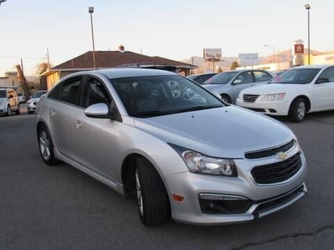 2015 Chevrolet Cruze for sale at Crown Auto in South Salt Lake City UT