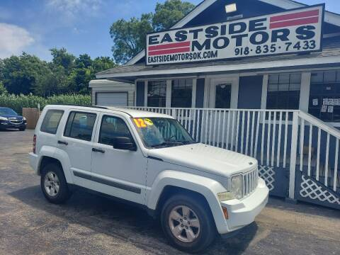 2012 Jeep Liberty for sale at EASTSIDE MOTORS in Tulsa OK