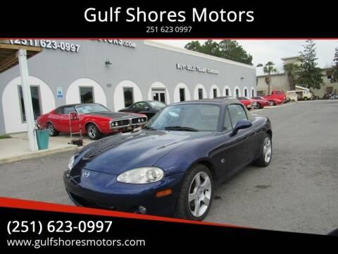 2003 Mazda MX-5 Miata for sale at Gulf Shores Motors in Gulf Shores AL
