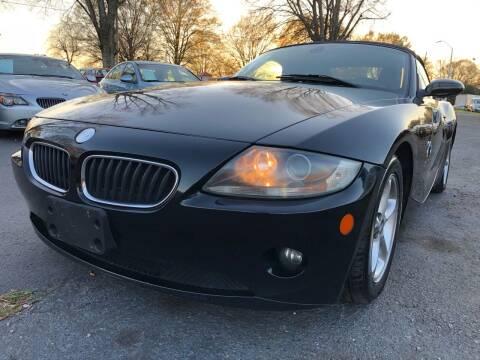 2005 BMW Z4 for sale at Atlantic Auto Sales in Garner NC