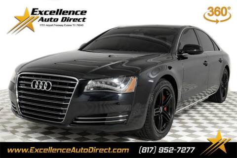 2014 Audi A8 for sale at Excellence Auto Direct in Euless TX