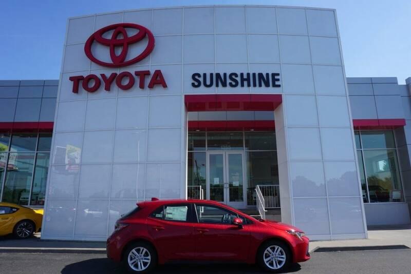 2021 Toyota Corolla Hatchback for sale in Springfield, MI