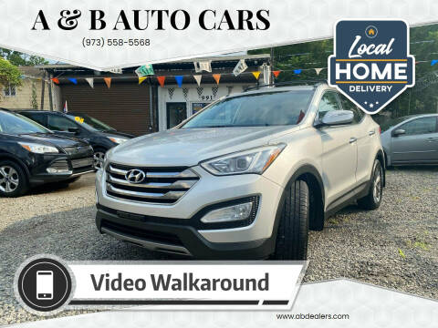 2013 Hyundai Santa Fe Sport for sale at A & B Auto Cars in Newark NJ