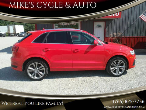 2016 Audi Q3 for sale at MIKE'S CYCLE & AUTO - Mikes Cycle and Auto (Liberty) in Liberty IN