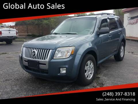 2010 Mercury Mariner for sale at Global Auto Sales in Hazel Park MI