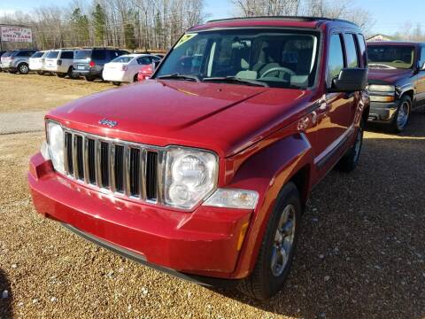 2008 Jeep Liberty for sale at Scarletts Cars in Camden TN