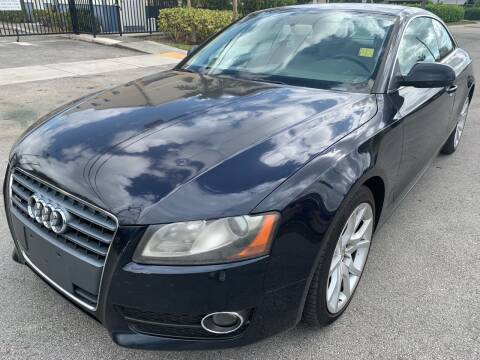 2010 Audi A5 for sale at Eden Cars Inc in Hollywood FL