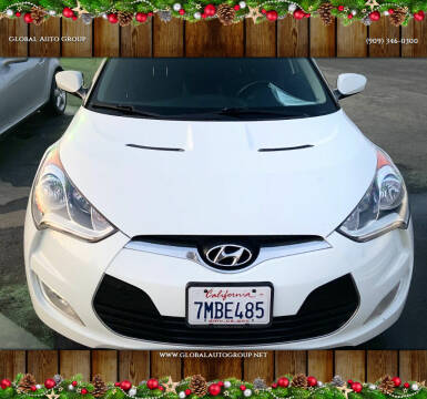 2015 Hyundai Veloster for sale at Global Auto Group in Fontana CA