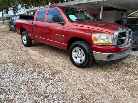 2006 Dodge Ram Pickup 1500 for sale at D & D Detail Experts / Cars R Us in New Smyrna Beach FL