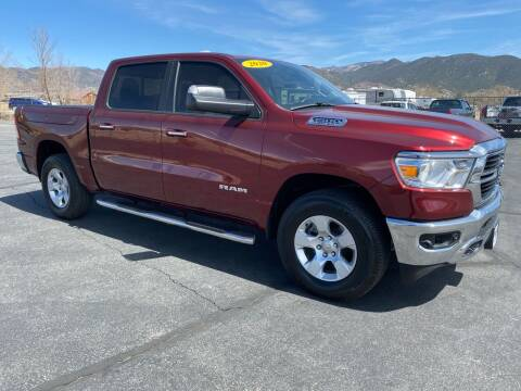 2020 RAM Ram Pickup 1500 for sale at Salida Auto Sales in Salida CO